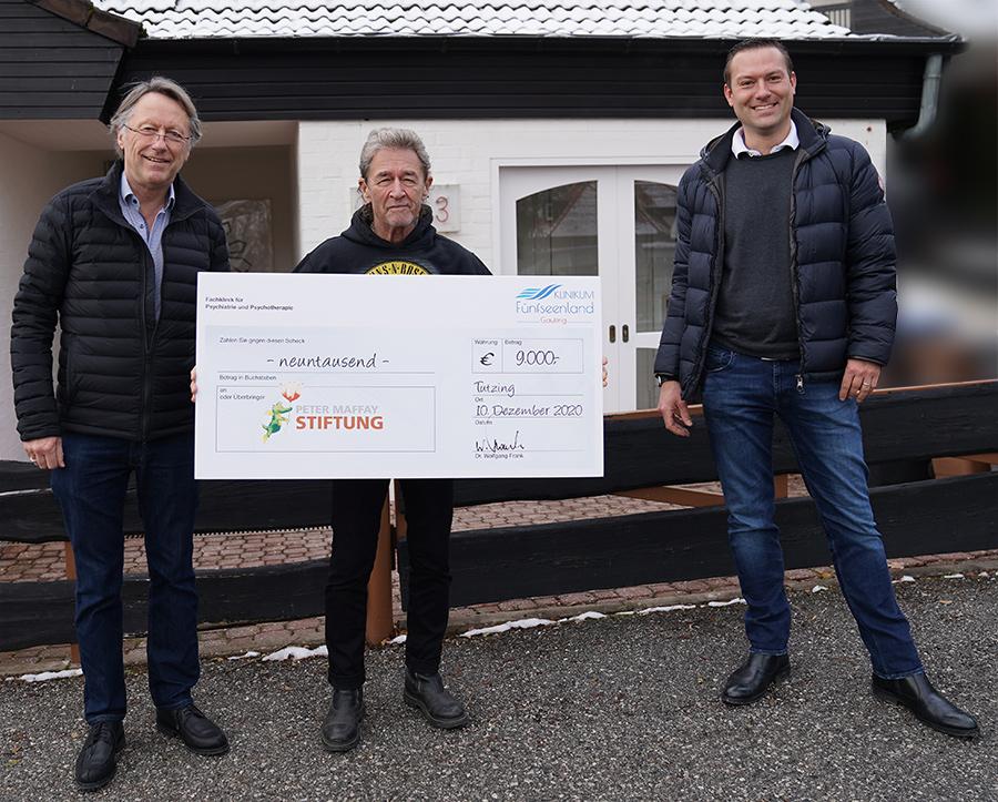 Das Klinikum Fünfseenland Gauting unterstützt die Peter Maffay Stiftung